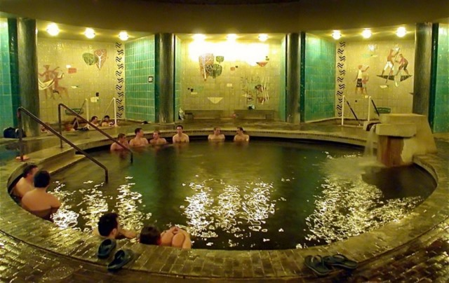 Turkish bath imitation of szentes