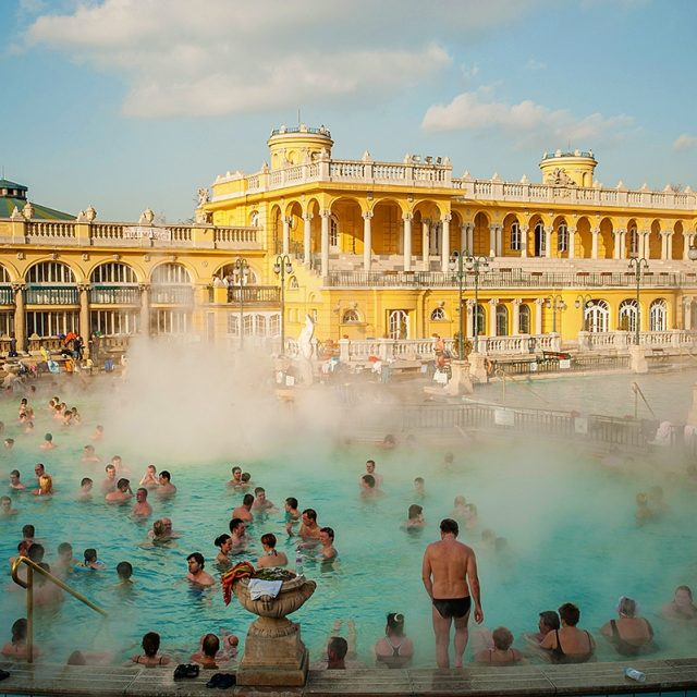 Széchenyi, medicinal thermal bath – Budapest
