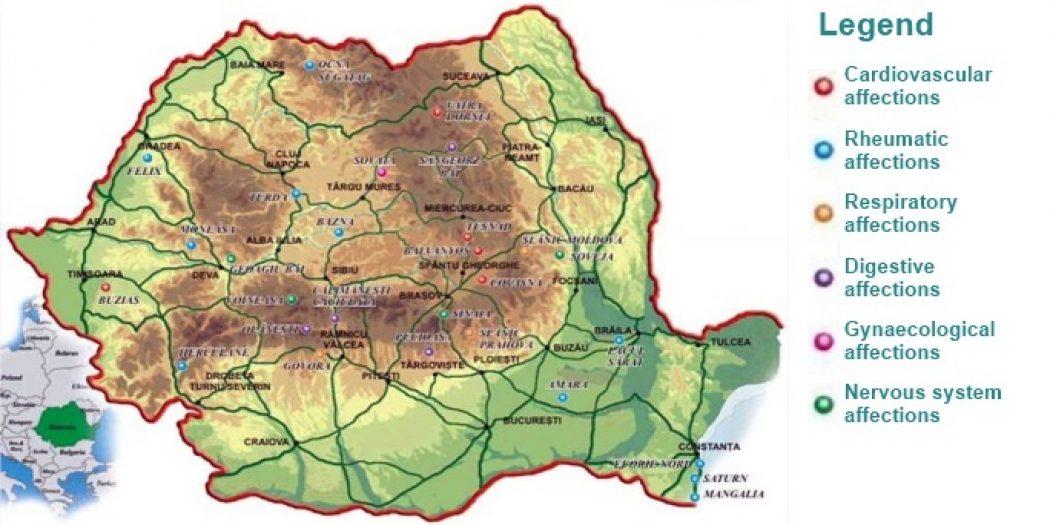 Balneary tourism in Romania